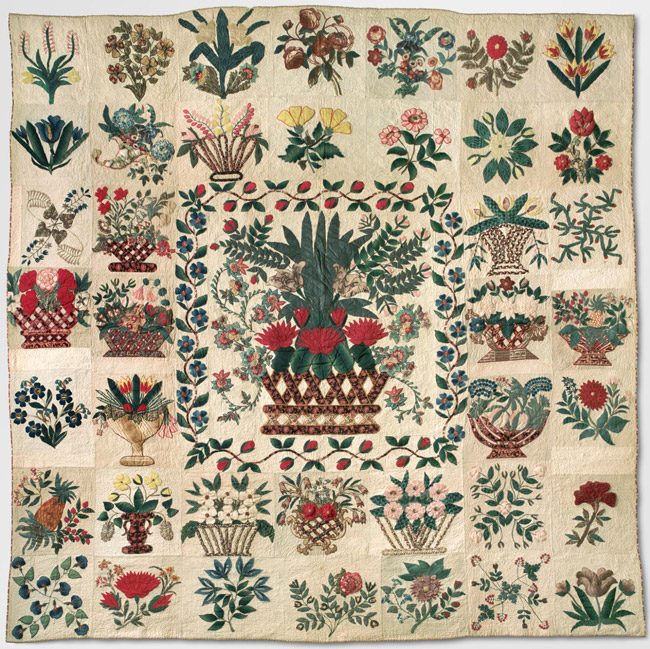 Botanical Album Quilt