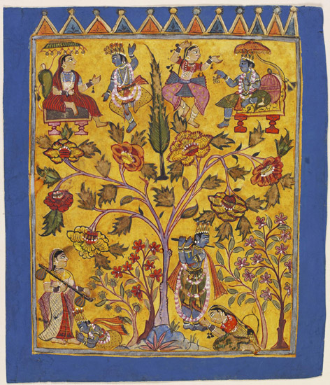 Krishna and the Gopis Exchange Roles