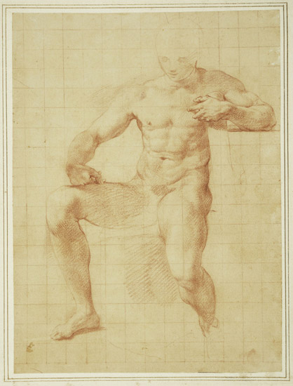 "Study of Hercules for ""The Choice of Hercules"""