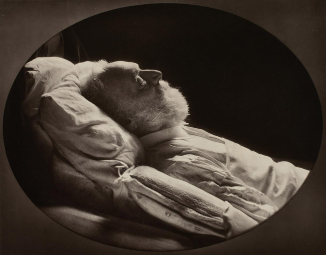 Victor Hugo on his Death Bed