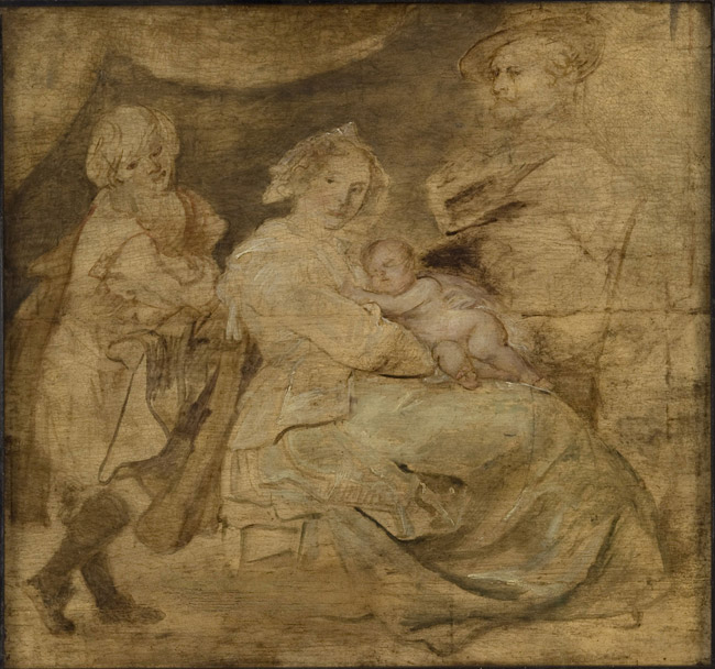Sketch for a Portrait of a Family