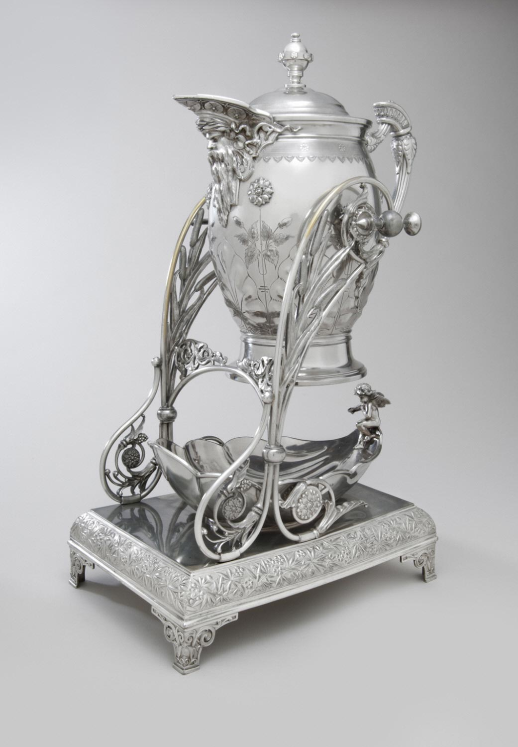 Rogers Smith & Co tilting ice pitcher