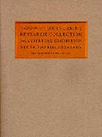 Guide to the Thomas Eakins Research Collection: With a Lifetime Exhibition Record and Bibliography