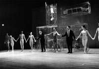 Image 13: Curtain call for the premiere of Walkaround Time
