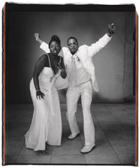 Image 03: Toccarra Baguma and George Wilkinson, New York City