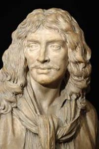 Detail of Bust of Moliere,