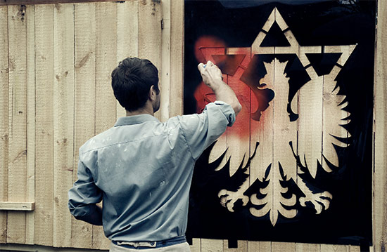 Still from Mur i wieża (Wall and Tower), 2009, by Yael Bartana. From the trilogy And Europe Will Be Stunned. Image courtesy of the artist
