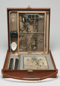 From or by Marcel Duchamp or Rrose Sélavy (Box in a Valise)
