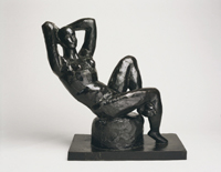 Large Seated Nude