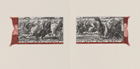 Battle Scene Diptych