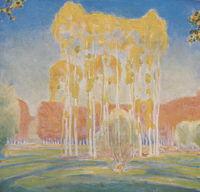 Autumnal Afternoon - The Poplars, Voulangis