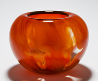 'Burst of Orange' Bowl