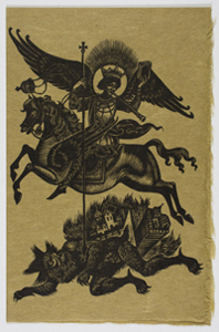 The Archangel Michael Fighting the Antichrist