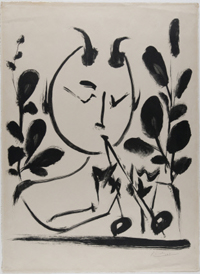 Faun with Branches