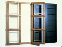 Dictionary of Building: Open Window/Closed Window