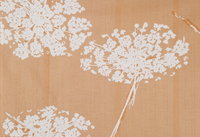Printed Textile: Queen Anne's Lace