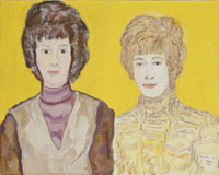 Portrait of Marian and Betty