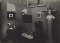 Surrealist Exhibition, Pierre Colle Gallery, Paris, 1933, Showing Objects by André Breton, Salvador Dalí, Marcel Duchamp, Max Ernst, and Man Ray