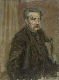 Portrait of Gustave Candel's Father