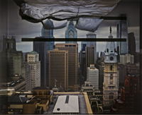 Camera Obscura: View of Philadelphia from Loews Hotel Room #3013 with Upside Down Bed