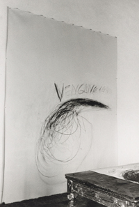 Cy Twombly series Fifty Days at Iliam in the Artist's Studio, Via Monserrato, Rome