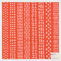 """""""Treads"""" Printed Textile"""