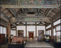 Reception Hall from the Palace of Duke Zhao (Zhaogongfu)