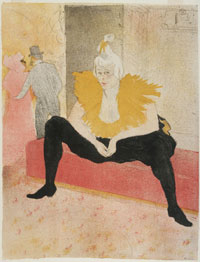 Seated Clown (Mademoiselle Cha-u-kao)