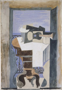 Still Life in Front of an Open Window at Saint-Raphaël