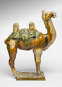 Tomb Figure of a Bactrian Camel