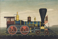 Locomotive Briar Cliff