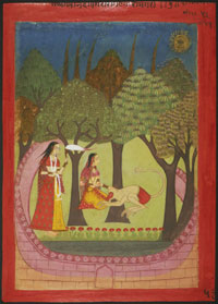 Hanuman Finds Sita
