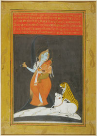 Shiva as Half Man and Half Woman (Ardhanarishvara)