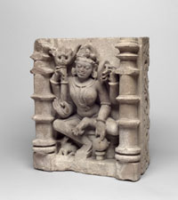 Shiva Ardhanarishvara (Shiva As the Lord Who Is Half Woman)