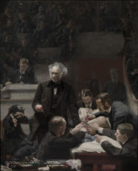 Portrait of Dr. Samuel D. Gross (The Gross Clinic)