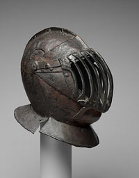 Close Helmet for the Game of the Bridge (Gioco del Ponte)