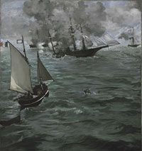 "The Battle of the U.S.S. ""Kearsarge"" and the C.S.S. ""Alabama"""