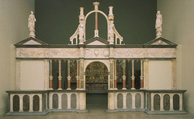 Choir Screen from the Chapel of the Château of Pagny
