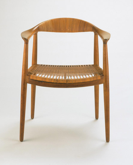"""Round"" Armchair, Model No. JH 501"