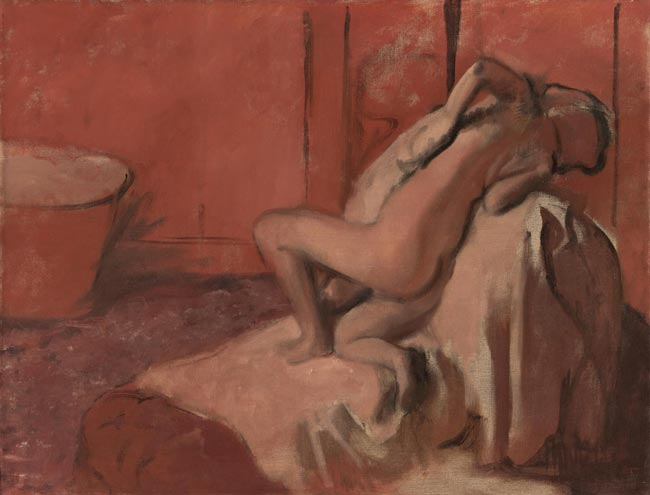 After the Bath (Woman Drying Herself)