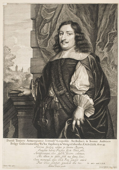Portrait of David Teniers II