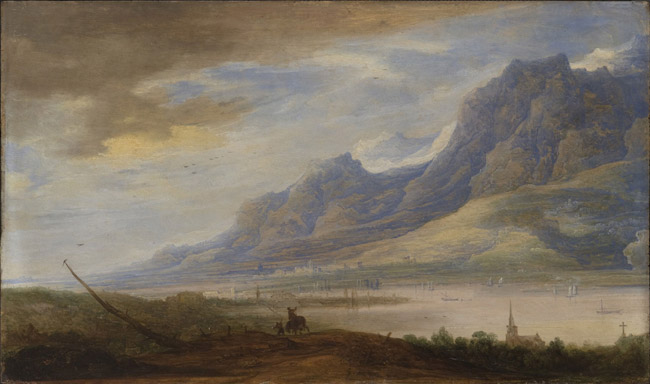 Mountainous Landscape with a River