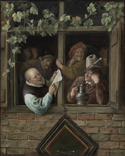 Rhetoricians at a Window