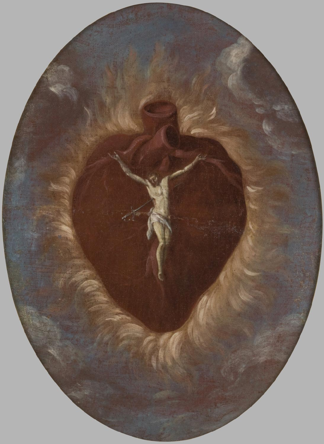 Christ Crucified on the Sacred Heart
