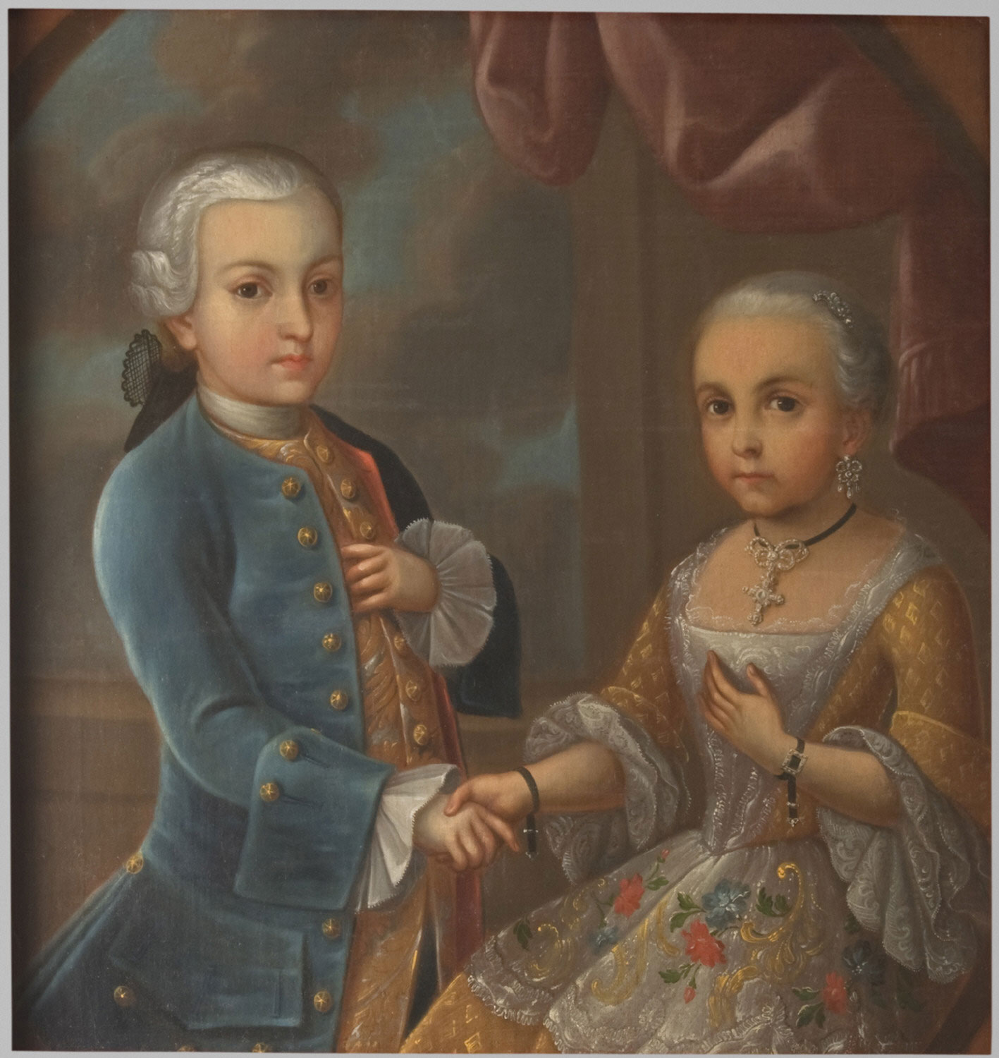 Portrait of Two Children of the Aristocracy
