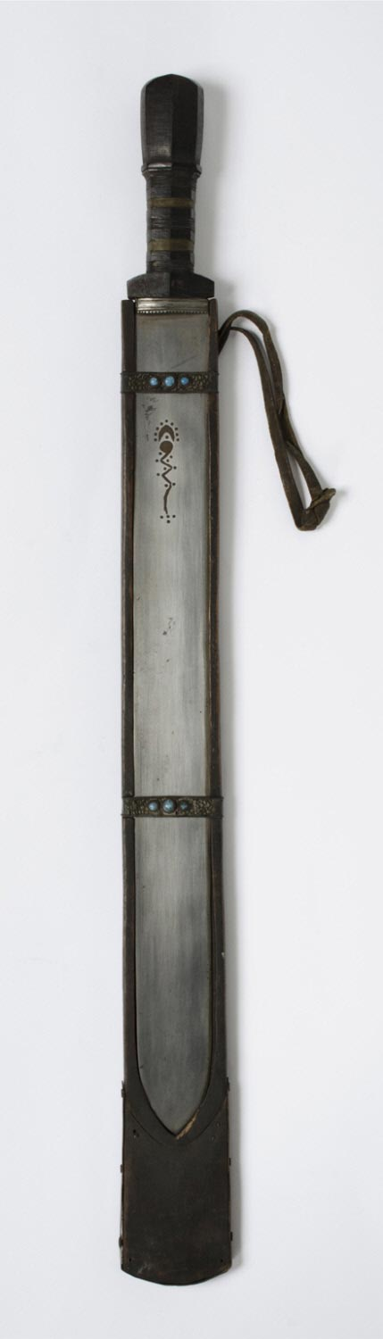 Short Sword and Wooden Scabbard