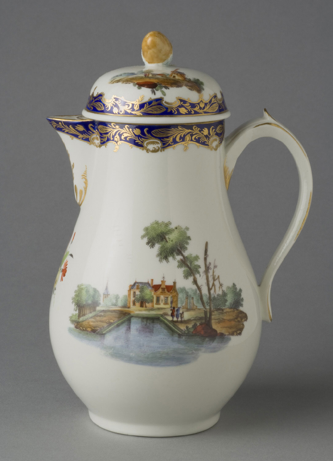 Cream Pitcher with Lid