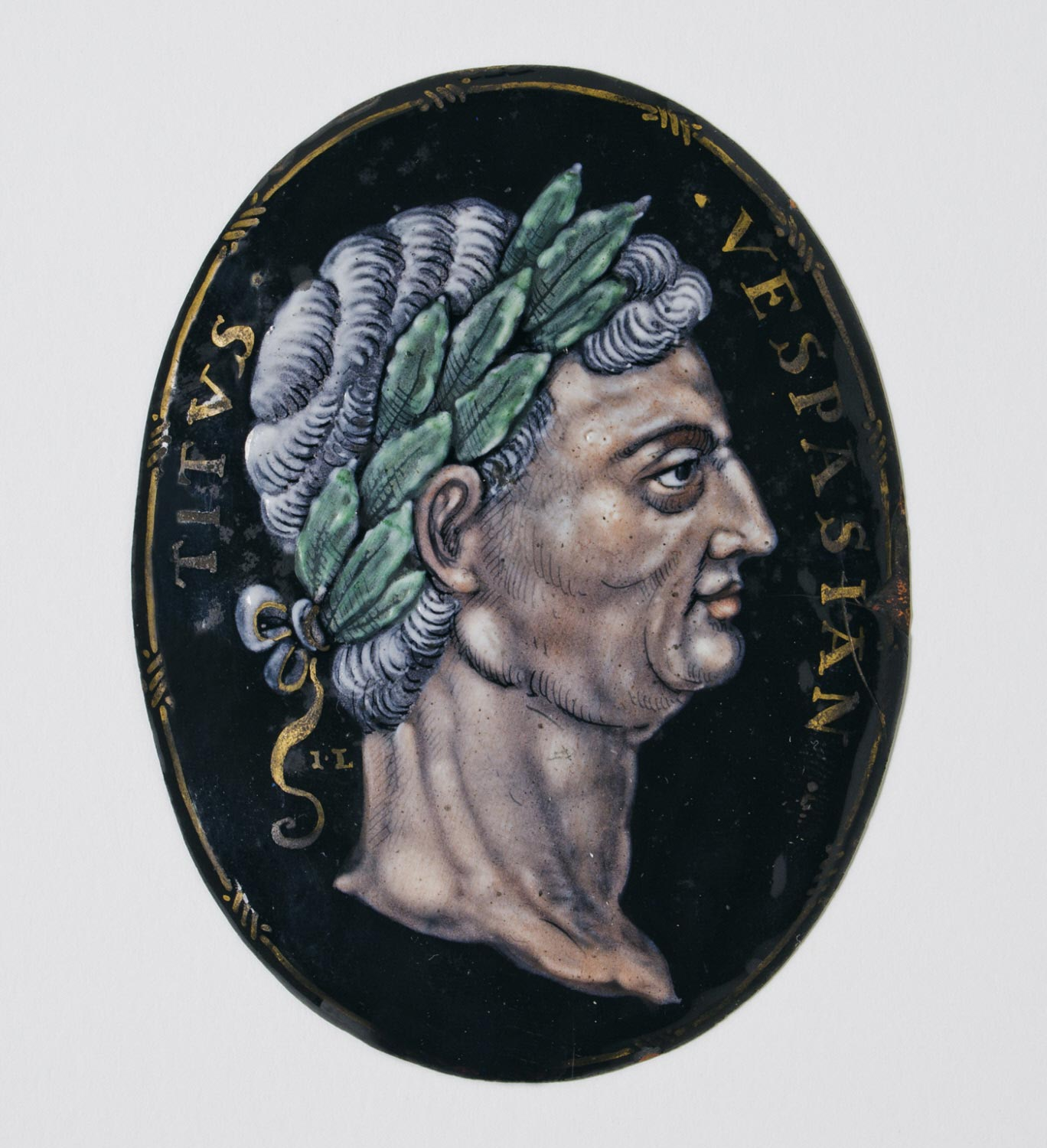 Medallion with Bust of the Emperor Vespasian