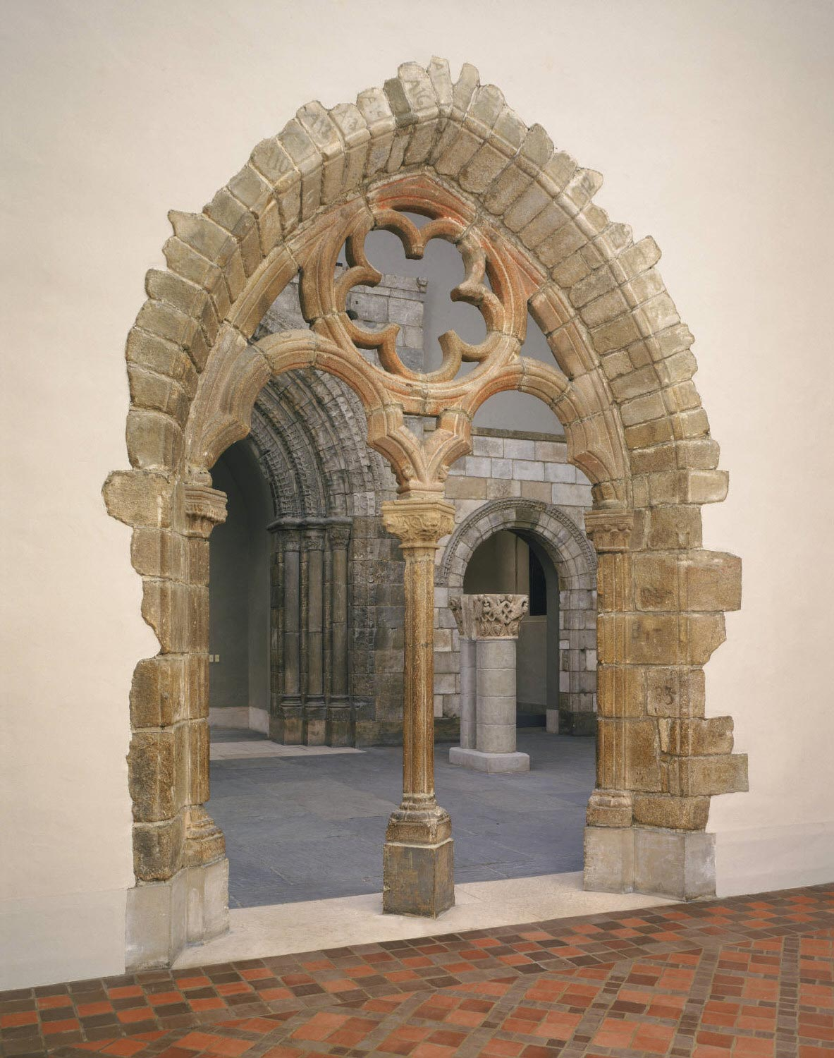Arched Entrance, from the Chapter House of the Carmelite Convent Les Grands Carmes des Arènes