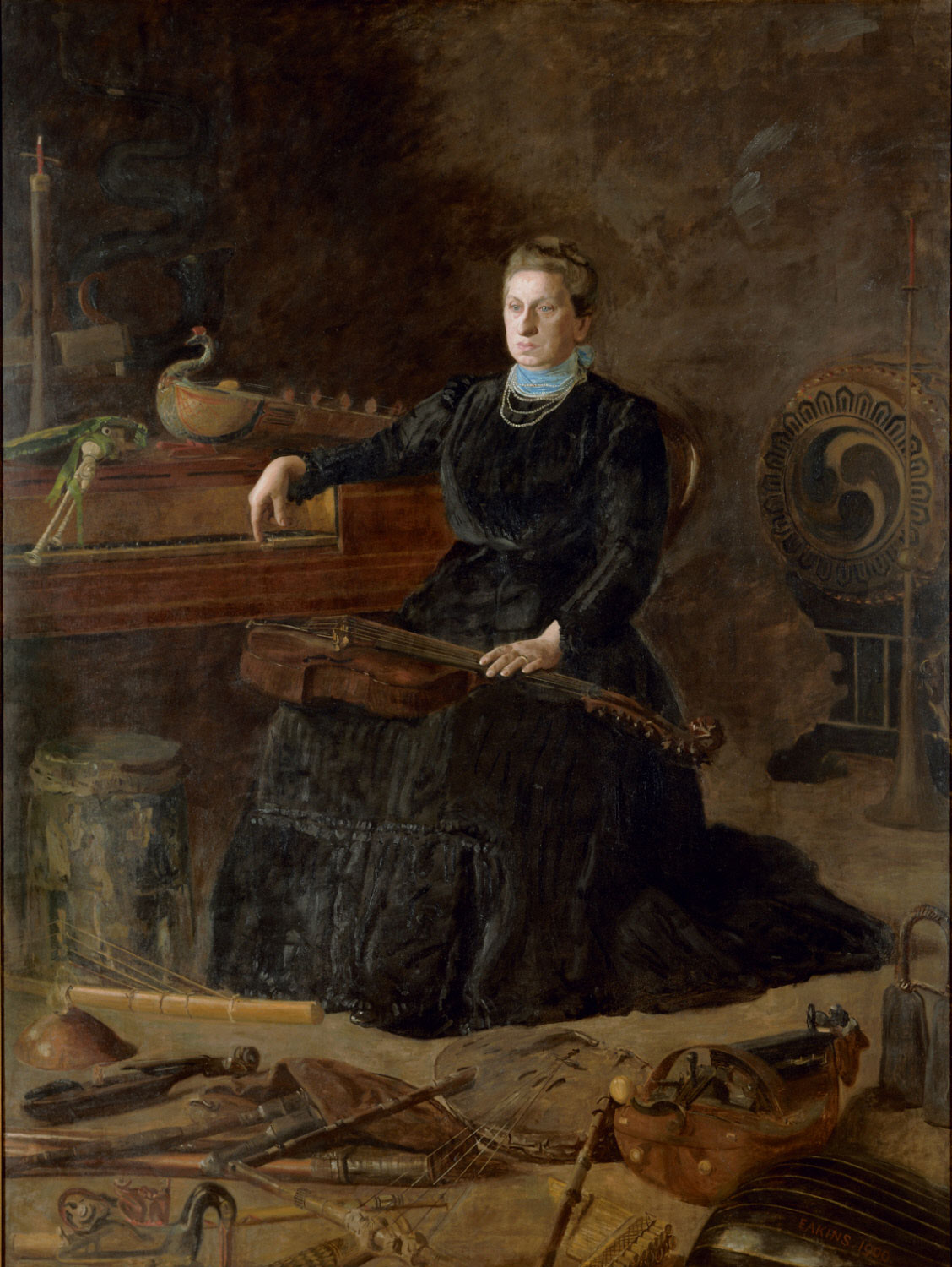 Antiquated Music (Portrait of Sarah Sagehorn Frishmuth)